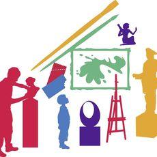 Logo BMBF Kultur macht stark Kunst Museum